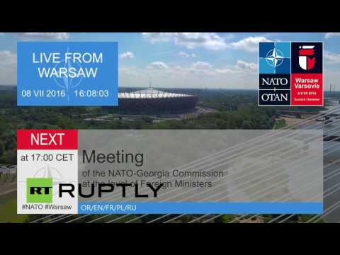 LIVE: Heads of state to participate in NATO Summit in Warsaw - Day 1