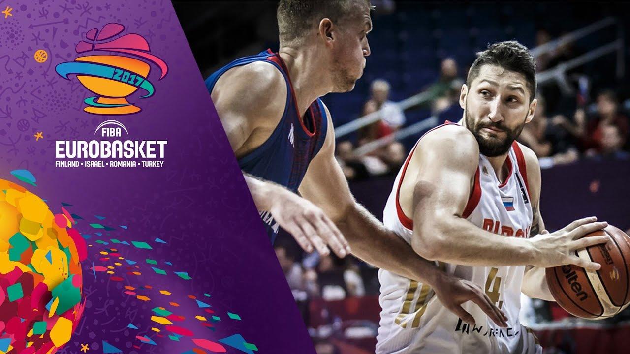 Russia v Great Britain - Full Game - FIBA EuroBasket 2017