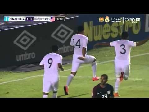 Guatemala vs USA - Mar 25, 2016 (WC Qualifier) - Full Match