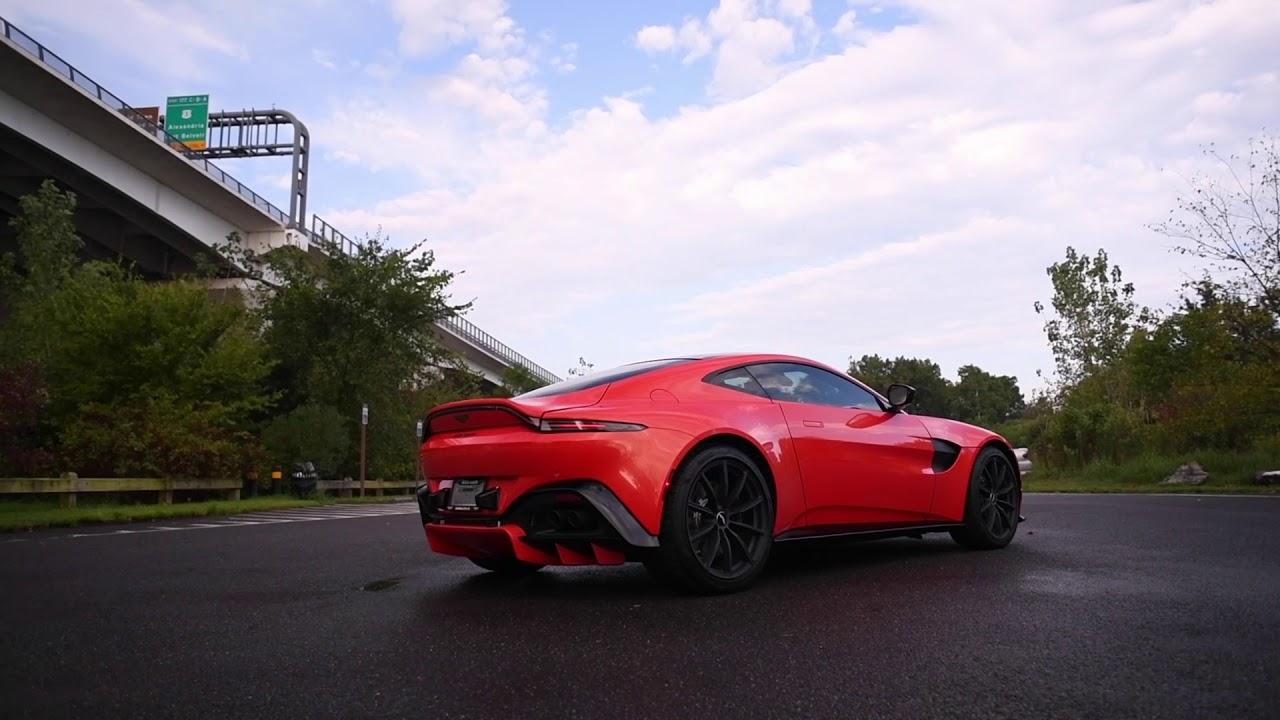 2020 Aston Martin Vantage In Stunning Cosmos Orange Youtube