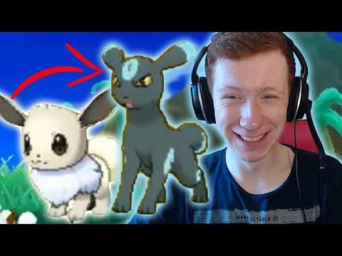 MOONLIGHT DOG - SHINY EEVEE/UMBREON REACTION - Pokemon Sun and Moon - Shiny #36!