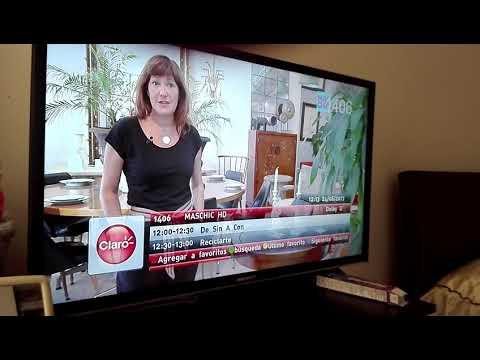 Zapping  HD Tv  Digital Plus Claro Colombia - Agosto 2017