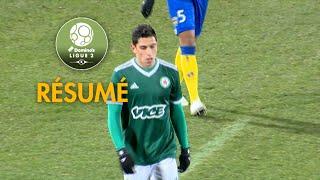 Red Star  FC - FC Sochaux-Montbéliard ( 3-0 ) - Résumé - (RED - FCSM) / 2018-19