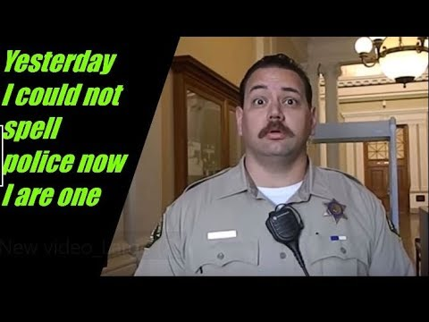 1st Amendment Audit Riverside County Court. Fail