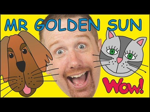 Mr. Sun, Mr Golden Sun with Steve and Maggie NEW | Stories and Songs for Kids | Wow English TV