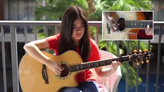 Video Luis Fonsi, Daddy Yankee ft  Justin Bieber Despacito   Fingerstyle Guitar Cover TABS download MP3, 3GP, MP4, WEBM, AVI, FLV Juli 2018