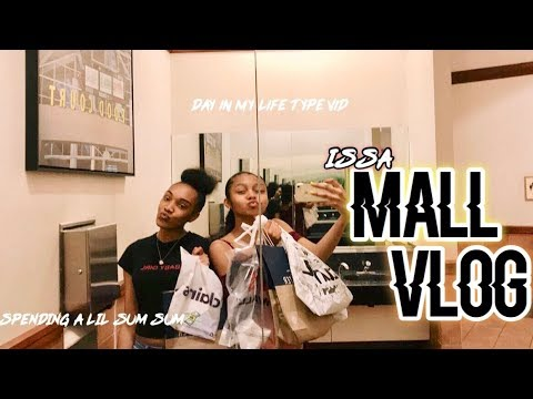 MALL VLOG | A DAY IN MY LIFE : COME SHOPPING WITH ME