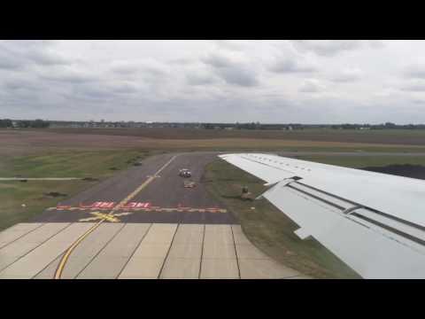 CHAMPAIGN ILLINOIS WILLARD AIRPORT LANDING 05.17.2016