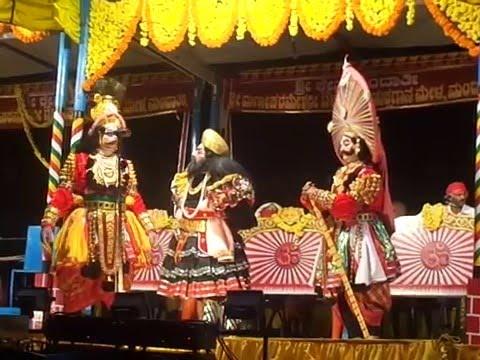 Yakshagana mandarthi mela.... Akshayambara