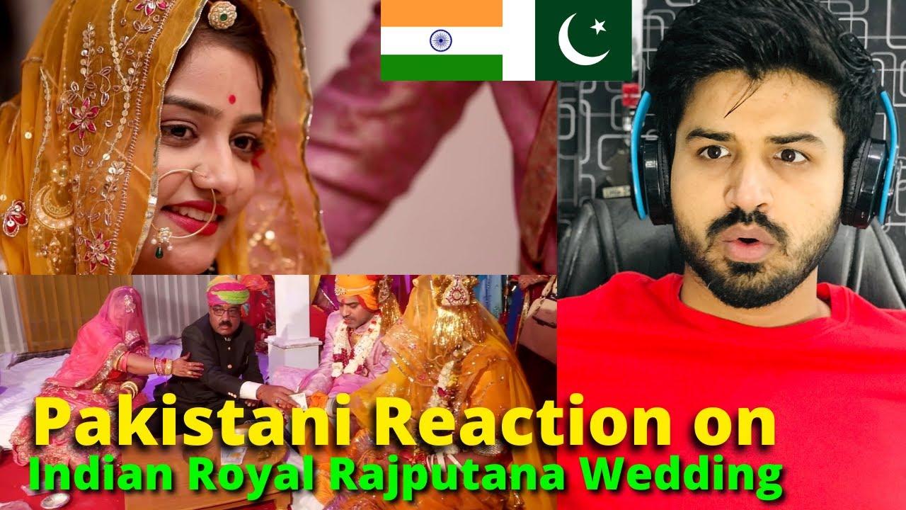 REACTION on Indian Royal Rajputana Wedding (Rajasthan, India) Reaction Vlogger