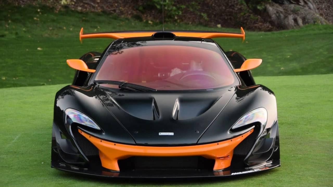 Car Week 2016 - Quail - McLaren Race Cars - 2X P1 GTR, 570 Sprint ...