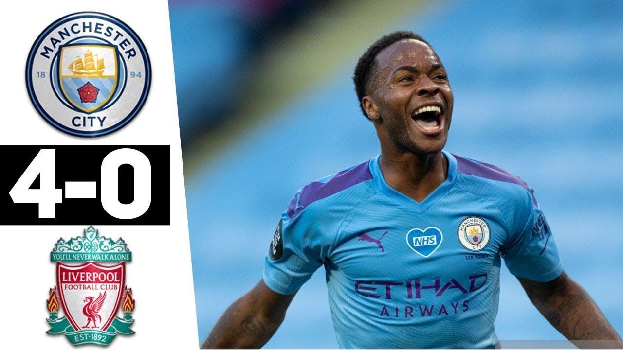 Manchester City vs Liverpool 4-0 All Goals & Highlights ...