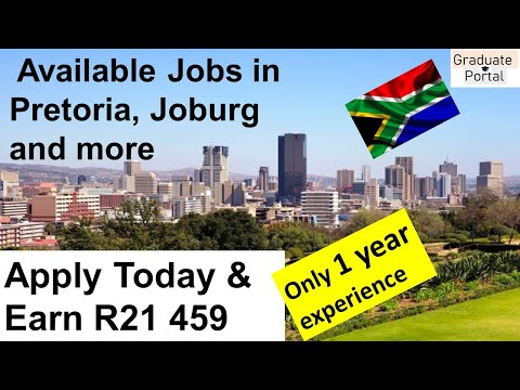 Available Jobs in South Africa, Johannesburg, Pretoria etc │Apply for your Dream Job Today