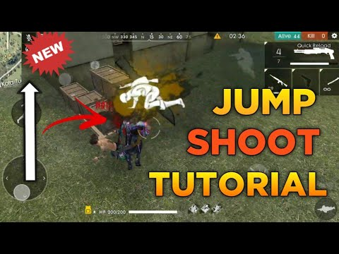 Free Fire | How to Jump & Shoot Same Time !!! | Easy Tips For Jump Shoot !! | Jump Shoot Tutorial !!
