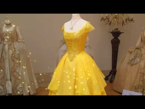 Beauty And The Beast Movie 2017 Belle S Magical Dress Emma Watson Dan Stevens Disney