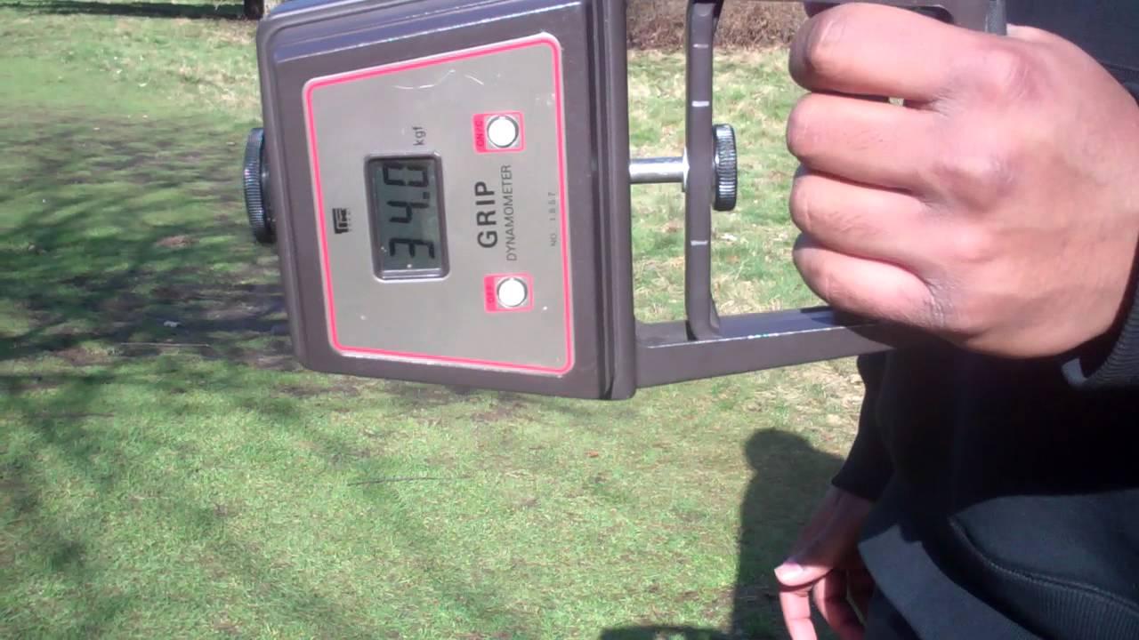 Hand Grip Dynamometer Test : Hand grip strength test youtube