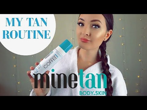My Fake Tan Routine & Mine Tan Review / How To Tan - Tips & Demo