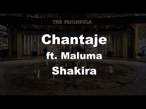 Karaoke Chantaje Shakira No Guide Melody Instrumental Youtube
