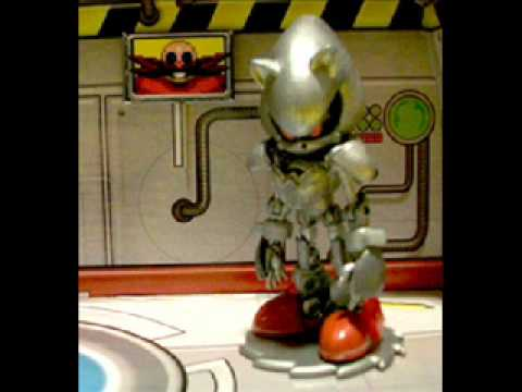new silver sonic 3 inch figure youtube