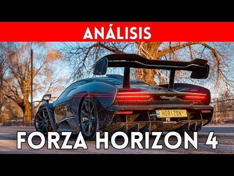 Análisis FORZA HORIZON 4 XBOX ONE X - ¿Uno de los MEJORES juegos de COCHES  de la HISTORIA? - REVIEW