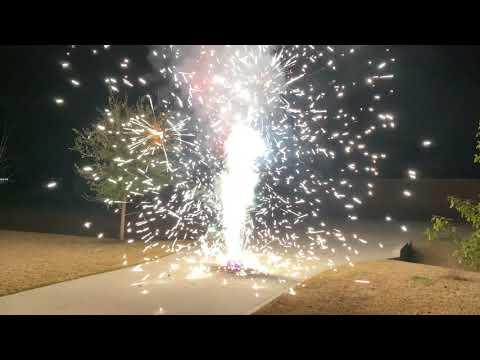 Fireworks In 4k Unicorn Farts Fountain Fisherman Pyrotechnics