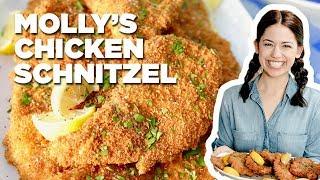 Molly Yeh Makes Chicken Schnitzel | Food Network