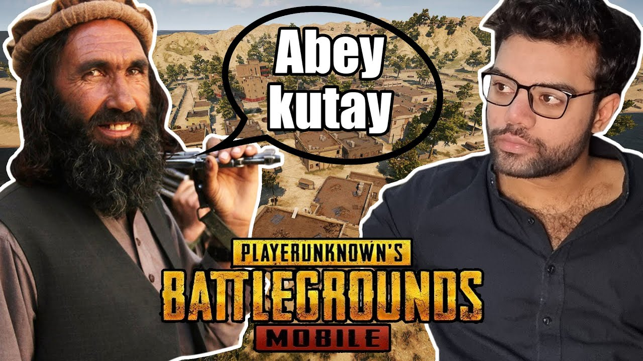 Getting Roasted By Random Pathan In PUBG Mobile !!!