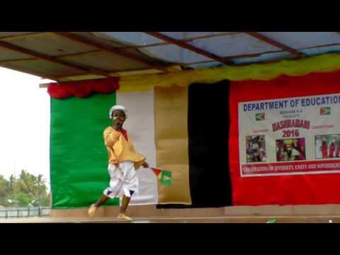 KeshunWright - Guyana The Free (LIVE at the Children's Mashramani Calypso Competition 2016)