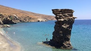 ALog 0022: Fun on Andros, First Island in the Aegean