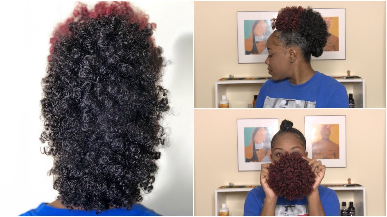 How To Frohawk Mohawk With Drawstring Ponytail Natural