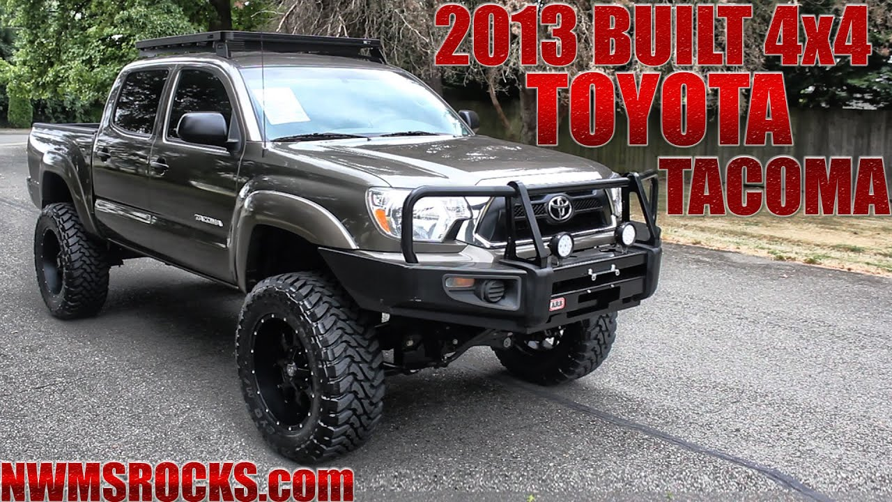 Customized 2013 Toyota Tacoma 4x4  Northwest Motorsport  YouTube