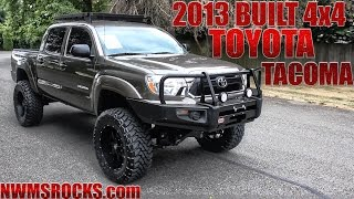 Customized 2013 Toyota Tacoma 4x4 - Northwest Motorsport