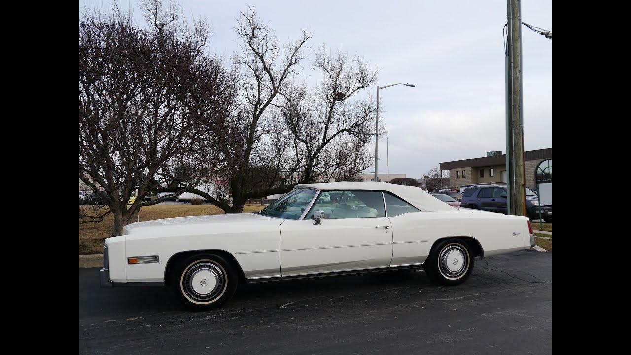 1975 Cadillac Eldorado Convertible Sold Youtube