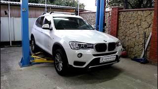 BMW X3 2016  БМВ X3 2,0 Замена задних тормозных колодок