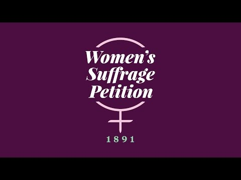 Women's Suffrage Petition 125th Anniversary