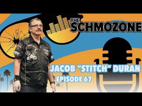 Stitch Duran behind the wraps.