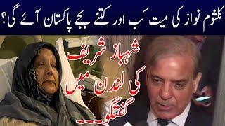 Shahbaz Sharif Exclusive Talk In London
