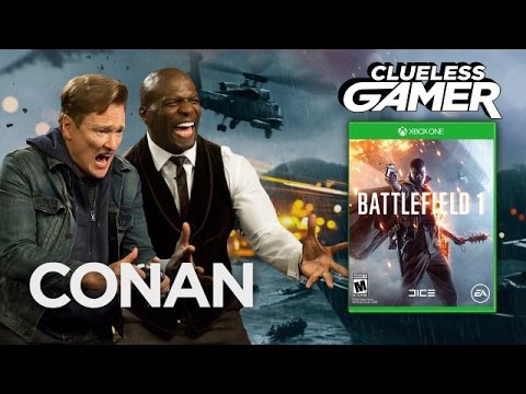 "Clueless Gamer: ""Battlefield 1"" With Terry Crews – CONAN on TBS"