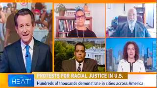 CGTN/The Heat: Murder of #GeorgeFloyd & Nationwide Protests