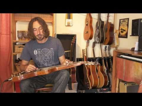 Anderwood Electric Weissenborn Demo // Wille Edwards - Mr B Productions // Wille and the bandits