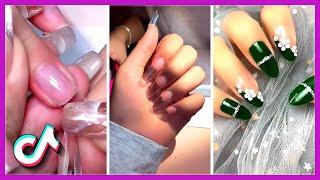 Nails Art Tutorial Tik Tok Compilation | Best New Nail Videos February 2021