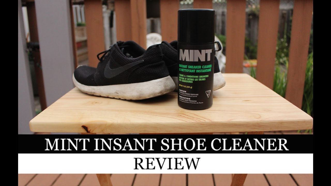 9156436b63f05 Does MINT Instant Sneaker Cleaner Work