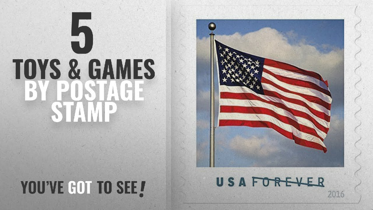 Top 10 Postage Stamp Toys Games 2018 Us Flag Usps Forever Stamps Book Of 20 2016 New Release