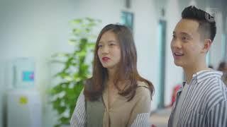 JustaTee và Trâm Anh tham dự Sự kiện khai trương nhà mẫu VinCity
