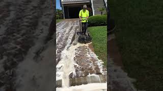 Advanced Exterior Maintenance Driveway Cleaning