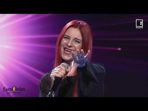 "Pelageya Stefoglo - ""Empathy"", Eurovision Moldova 2020"