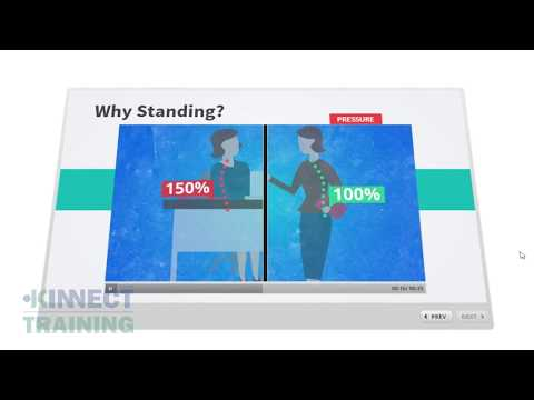 Standing Workstation Ergonomics course | STAND by KINNECT Training