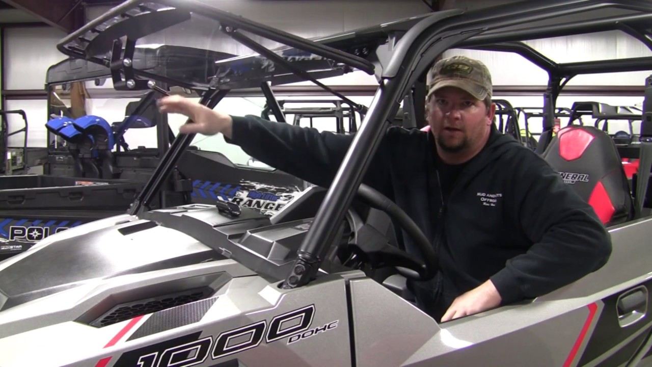 Emp Flip Up Windshield For The Polaris General P N 13307
