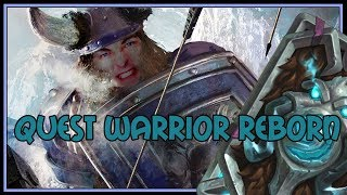 Quest Warrior reborn | The Witchwood | Hearthstone