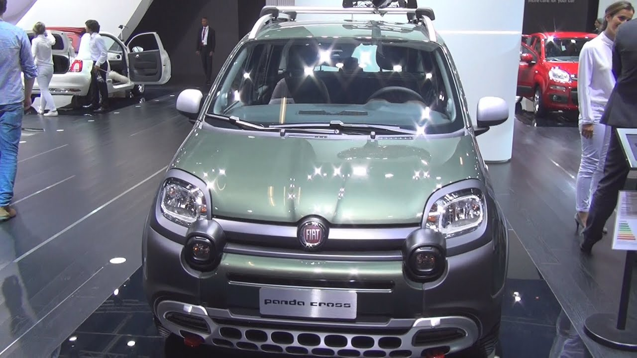 fiat panda cross 2016 exterior and interior in 3d youtube. Black Bedroom Furniture Sets. Home Design Ideas